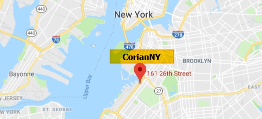 CorianNY is located in Brooklyn